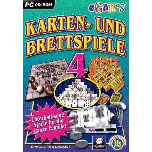 eGames - eGames Karten- und Brettspiele 4 - Preis vom 20.10.2020 04:55:35 h