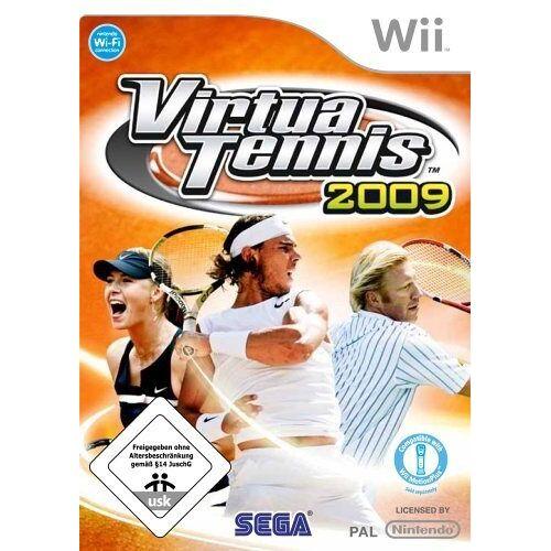 Sega - Virtua Tennis 2009 - Preis vom 16.05.2021 04:43:40 h