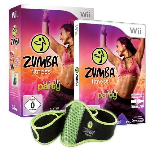 505 Games - Zumba Fitness - Join the Party (inkl. Fitness-Gürtel) - Preis vom 31.03.2020 04:56:10 h