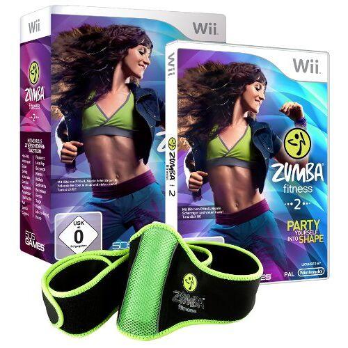 505 Games - Zumba Fitness 2 (inkl. Fitness-Gürtel) - Preis vom 20.10.2020 04:55:35 h