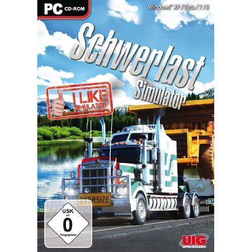 UIG - I like Simulator - Schwerlast Simulator - [PC] - Preis vom 11.05.2021 04:49:30 h