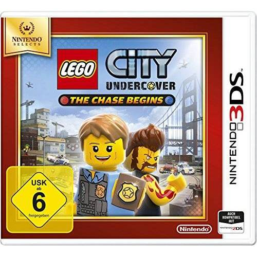 Nintendo Lego City Undercover: The Chase Begins - Nintendo Selects - [3DS] - Preis vom 23.01.2020 06:02:57 h