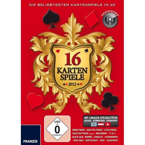 Franzis - 16 Kartenspiele 2012 - Preis vom 24.02.2021 06:00:20 h