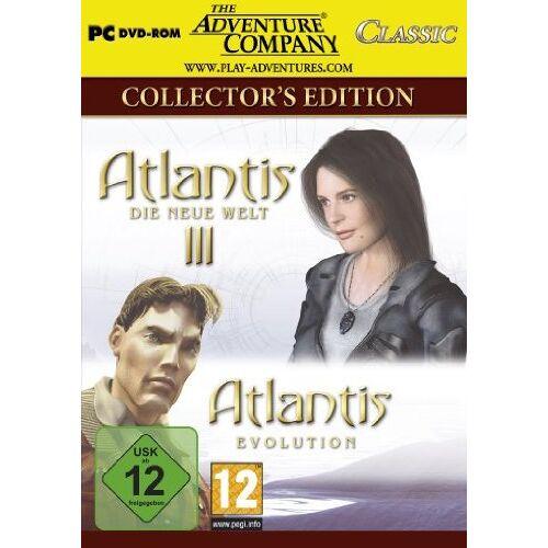 EuroVideo Games - Atlantis Collection (Atlantis III + Atlantis Evolution) - Preis vom 12.05.2021 04:50:50 h