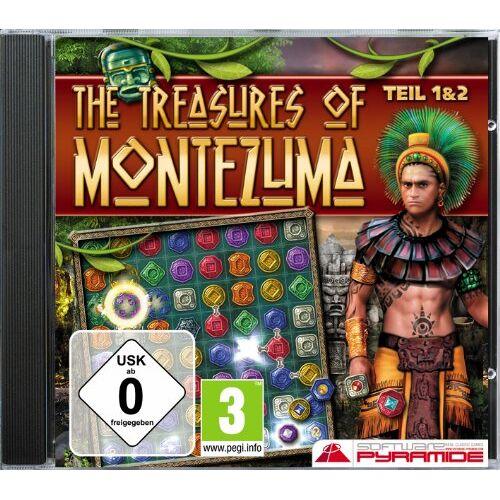 S.A.D. - The Treasures of Montezuma 1+2 - Preis vom 16.04.2021 04:54:32 h
