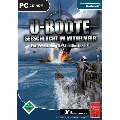 X 1 - U-Boote: Seeschlacht im Mittelmeer (Add-on zu Silent Hunter III) (PC) - Preis vom 20.10.2020 04:55:35 h