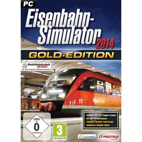Rondomedia - Eisenbahn Simulator 2014 Gold [PC] - Preis vom 10.05.2021 04:48:42 h