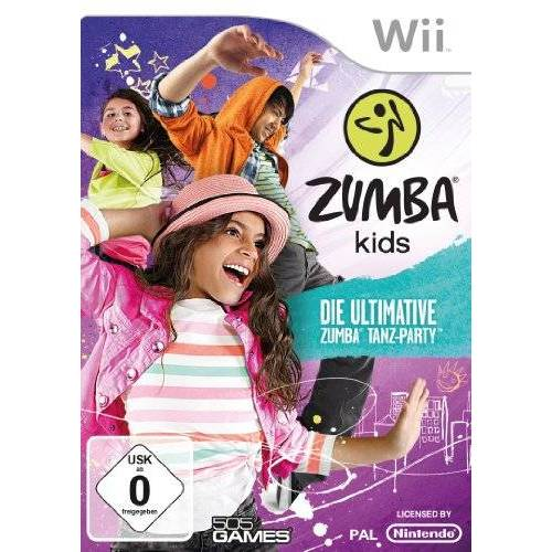 505 Games - Zumba Kids - The Ultimative Zumba Dance Party - Preis vom 23.01.2020 06:02:57 h