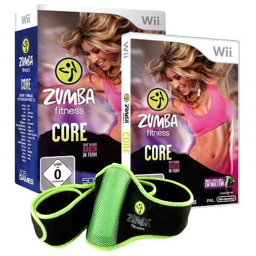 505 Games - Zumba Fitness Core (inkl. Fitnessgürtel) - Preis vom 10.04.2021 04:53:14 h