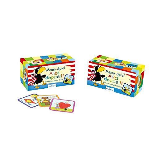 - Alles doppelt!: Memospiel vom kleinen Raben Socke (Der kleine Rabe Socke) - Preis vom 10.05.2021 04:48:42 h