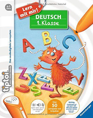 Eva Odersky - tiptoi® Lern mit mir!: tiptoi® Deutsch 1. Klasse - Preis vom 23.10.2021 04:56:07 h