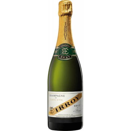 Champagne Irroy Champagner Brut Carte d'Or - Champagne Irroy Champagner brut - bruto aus Frankreich Champagne Champagne