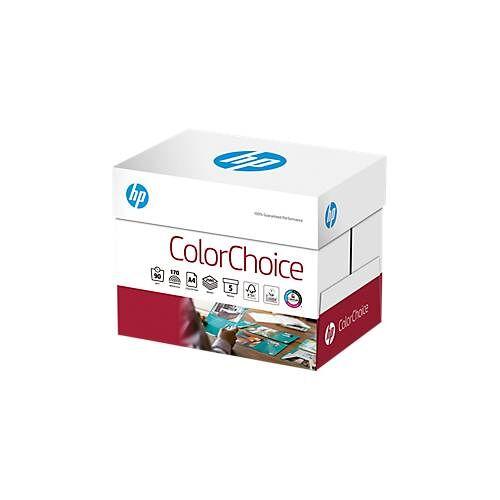 Hewlett Packard HP Kopierpapier ColorChoice, DIN A3 o. DIN A4, Grammatur 90 – 120 g/m², ab 250 Blatt
