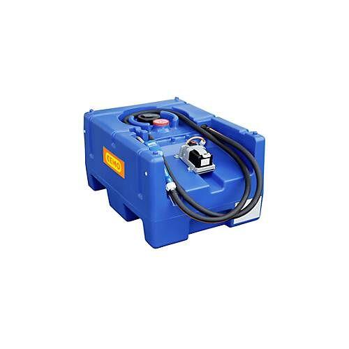 Cemo Mobile Tankstelle CEMO Blue-Mobil EASY, mit Tauchpumpe CENTRI SP30 12 V, 125 l Tank für AdBlue®, B 800 x T 600 x H 450 mm