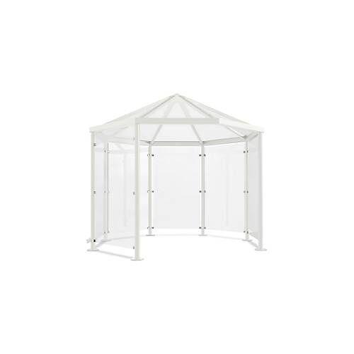 WSM Achteck-Raucherpavillon Modell Paris