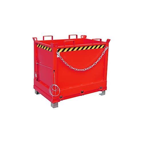Bauer Klappbodenbehälter FB 750 mit Gummifederung