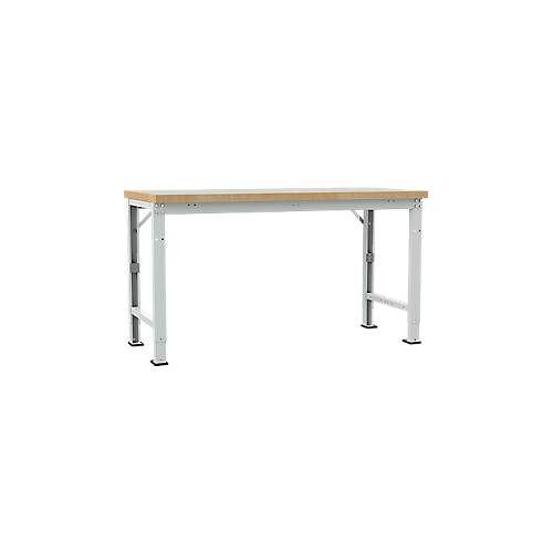 Manuflex Werkbank Profi Spezial, Tiefe 700 mm, Breite und Tischplatte wählbar