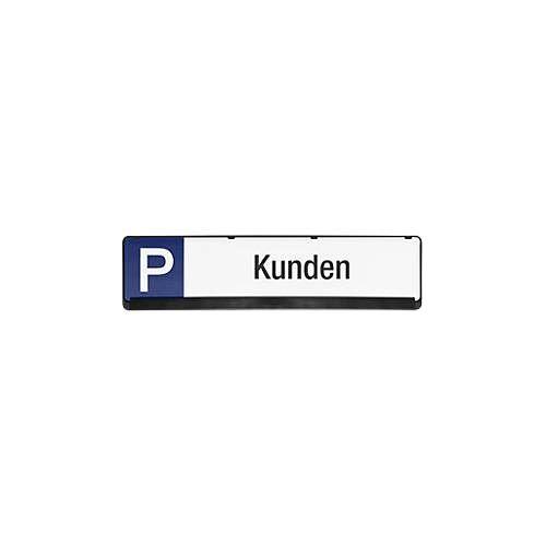 Parkplatzschild aus PP