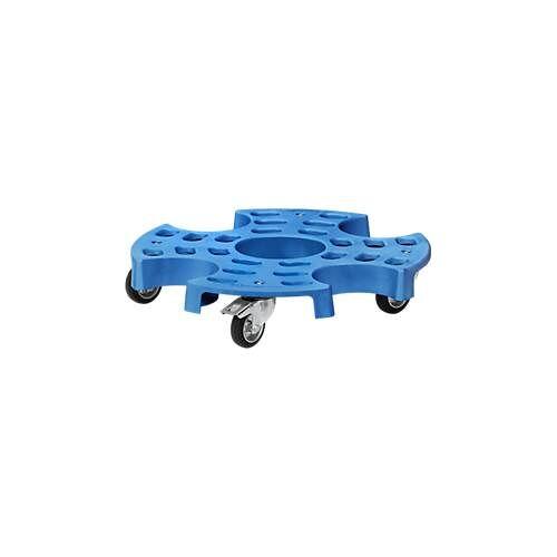 FETRA Reifenroller Tyre Trolley, für große Reifen, aus Polypropylen, Ø 700 mm, bis 180 kg