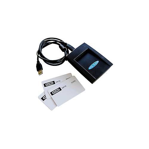 Cemo Datenübertragungsset CEMO mit 3 Datenübertragungskarten und Schlüsselleser, USB-Anschluss
