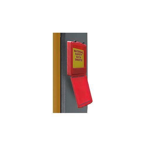 Asecos Dokumenten-Box, groß , L 400 x B 90 H 333 mm