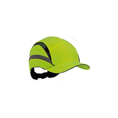 First Base Cap gelb mit Reflexstreifen