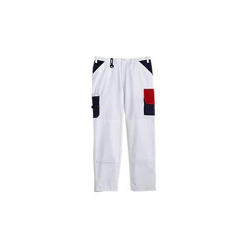 KANSAS® Maler-Bundhose Color, weiß