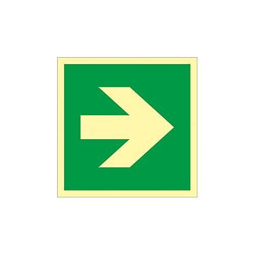 Richtungspfeil für Erste Hilfe-Einrichtungen