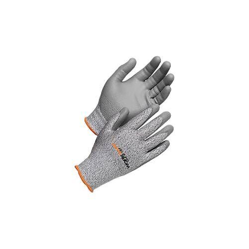 Schnittschutzhandschuhe Worksafe Cut 3-107, Schnittfestigkeit 3, EN388, HPPE/PU, nahtlos, Größe 9-11, 6 Paar