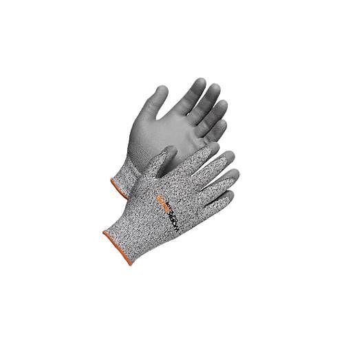 Schnittschutzhandschuhe Worksafe Cut 5-108, Schnittfestigkeit 5, EN388, HPPE/PU, nahtlos, Größe 9-11, 6 Paar