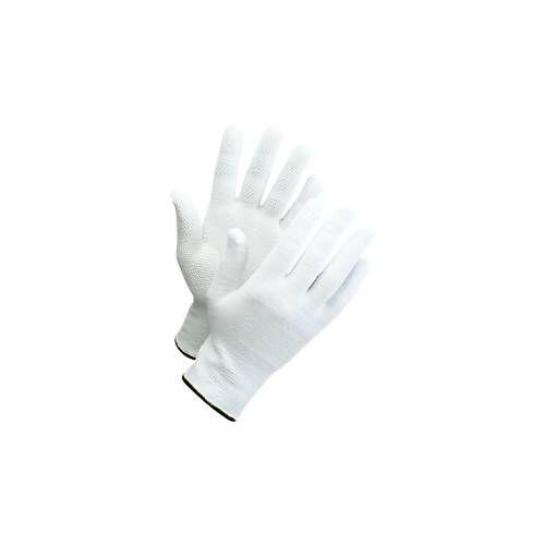 Strickhandschuhe mit Noppen Worksafe L71-720, CE Cat 1, Baumwolle/Spandex, Größe 6-11, weiß, 12 Paar