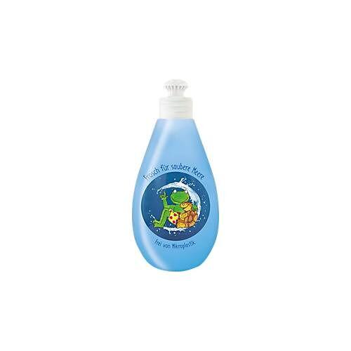 Frosch Spülmittel Frosch, mit Meeresmineralien, mikroplastikfrei, pH-hautneutral, 400 ml, Altplastik-Flasche