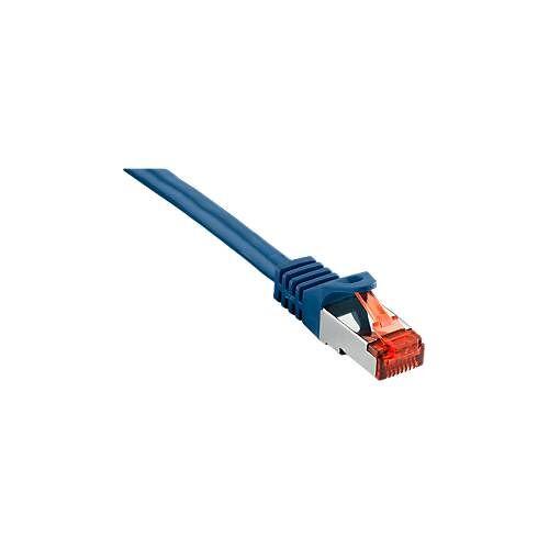 Patch-Kabel CAT6 S/FTP, blau