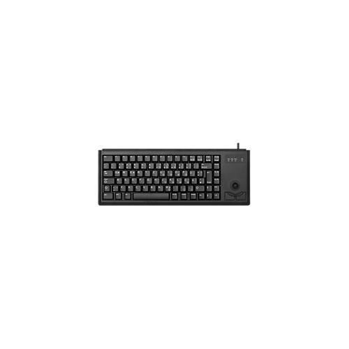 Cherry Compact-Keyboard G84-4400, mit Trackball, 2 Maustasten, Kabellänge 1,75 m