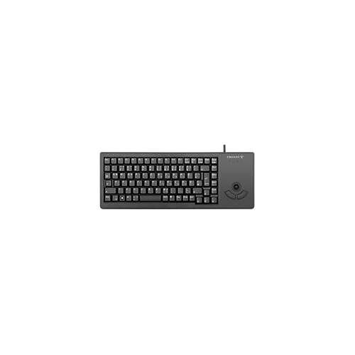 Cherry Tastaur XS Trackball Keyboard G84-5400, mit 2 Maustasten, USB-Anschluss