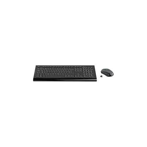 MediaRange Funk-Tastatur/Maus-Set MediaRange MROS104, Tastatur 105 Tasten, 5-Tasten Maus