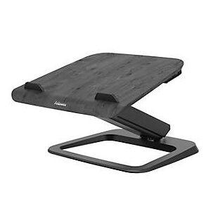 Fellowes Laptop-Ständer Fellowes Hana™, bis 17 Zoll und 4,5 kg, winkel- und höhenverstellbar, 90° drehbar, USB-Anschlüsse