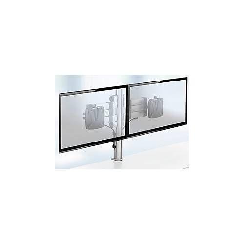 Novus Monitorsäule TSS Duo Teleskop 400, für 2 Monitore, 2 x Teleskop-Tragarme