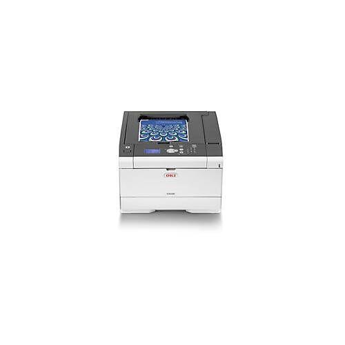 OKI LED-Drucker OKI C532dn, Farbe/SW, netzwerkfähig, Duplex/Mobildruck, bis A4