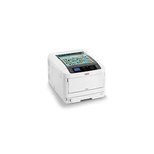 OKI LED-Drucker OKI C824dn, Farbe/Schwarzweiß, netzwerkfähig, Duplex, bis A3