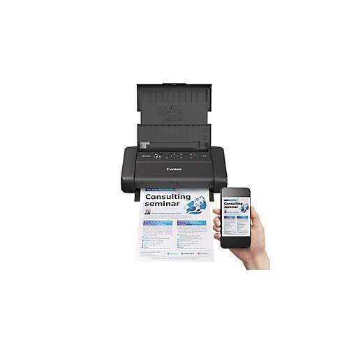 Canon Tintenstrahldrucker Canon PIXMA TR150, mobil, bis A4, WLAN/USB-Print, s/w & Farbe