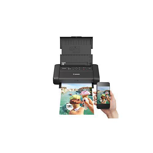 Canon Tintenstrahldrucker Canon PIXMA TR150, mobil, bis A4, WLAN/USB-Print, s/w & Farbe, mit Akku