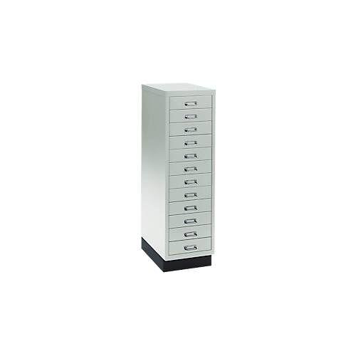 Schubladenschrank DIN A4, mit 12 Schubladen, 940 mm hoch