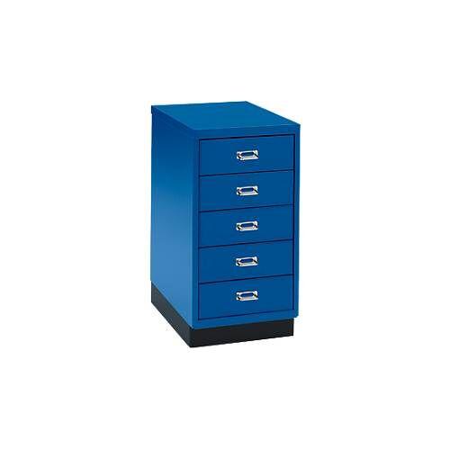 Schubladenschrank DIN A4, mit 5 Schubladen, 675 mm hoch