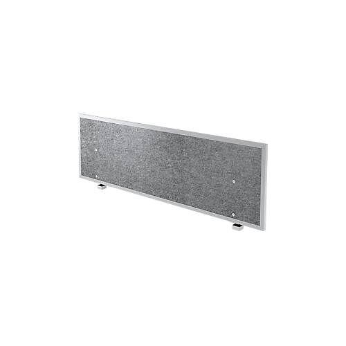 Akustik-Trennwand, f. Schreibtisch B 1200 – 1800 mm, Schallschutzklasse C, H 500 mm