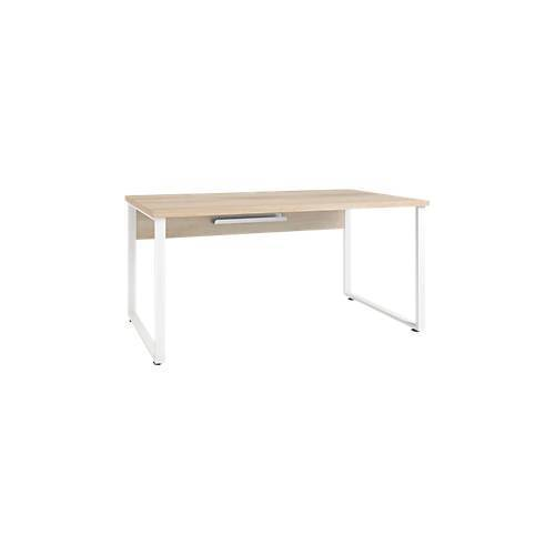 Schreibtisch Player, Kabeldurchlass und Kabelablage, Breite 1600 mm