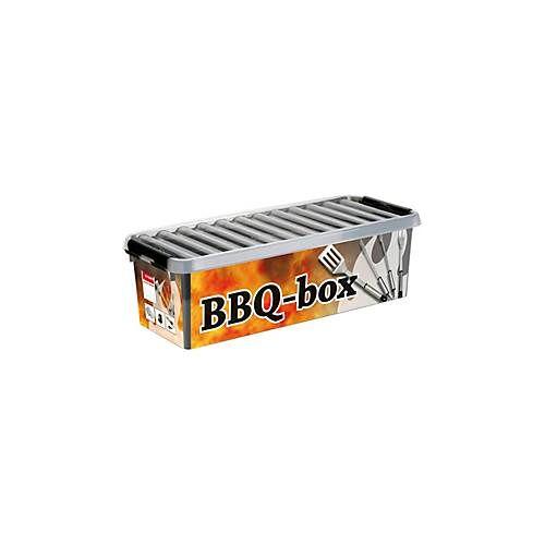 Sunware BBQ-Box Sunware Q-line, 9,5 l, inkl. Einsatz für Kleinteile