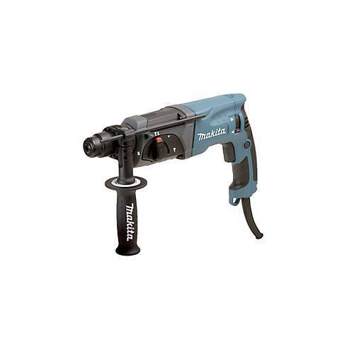 Makita Bohrhammer HR 2470 für SDS-PLUS, Bohrdurchmesser 24 mm, 780 Watt, 1-Gang Getriebe