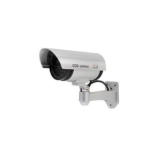 Olympia Kamera Attrappe Überwachungskamera Attrappe Olympia DC 400, mit LED Blinklicht