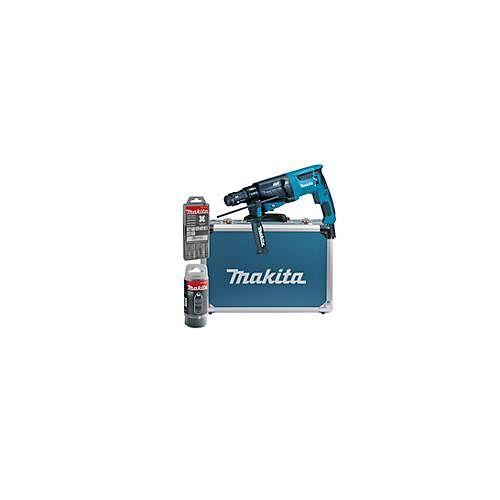 Makita Kombihammer für SDS-PLUS, Bohrleistung 26 mm, Leistung 800 W